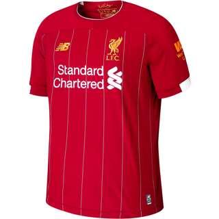 NEW BALANCE FC Liverpool 19/20 Heim Trikot Kinder rot