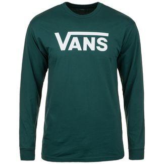 Vans Classic LS Sweatshirt Herren grün / weiß