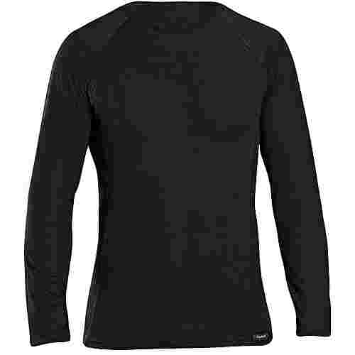 GripGrab Merino Polyfibre 50/50 Long Funktionsshirt black