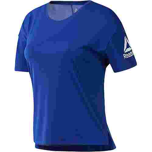 Reebok T-Shirt Damen cobalt