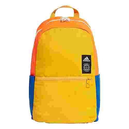 adidas Classic Rucksack XS Daypack Kinder Active Gold / Solar Orange / White