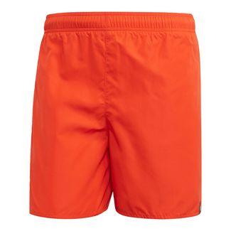 adidas Solid Badeshorts Badeshorts Herren Active Orange