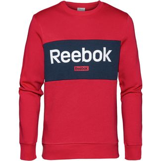 Reebok Linear Sweatshirt Herren rebel red