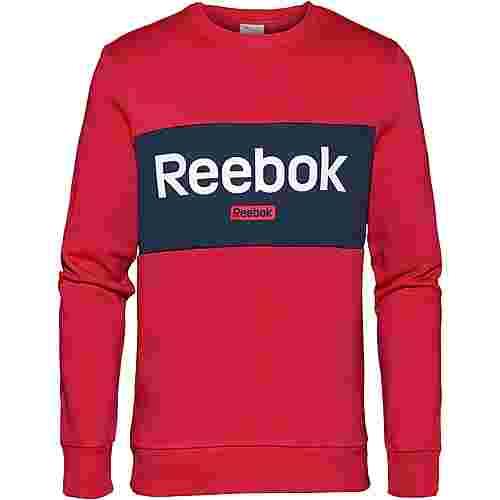 Reebok Linear Sweatshirt Herren rebel red