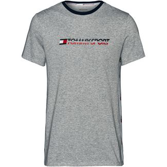 Tommy Sport T-Shirt Herren grey heather