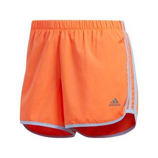 adidas Marathon 20 Shorts Funktionsshorts Damen Hi-Res Coral / Glow Blue