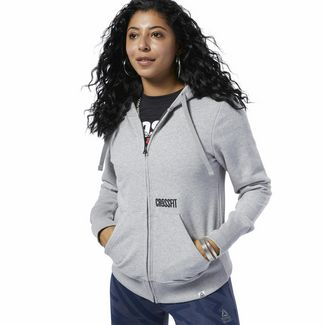 Reebok Reebok CrossFit® Repeat Hoodie Hoodie Damen Medium Grey Heather