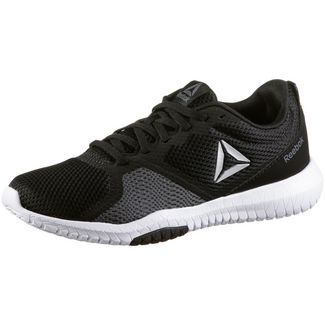Reebok Flexagon Force Fitnessschuhe Damen black-white-true grey