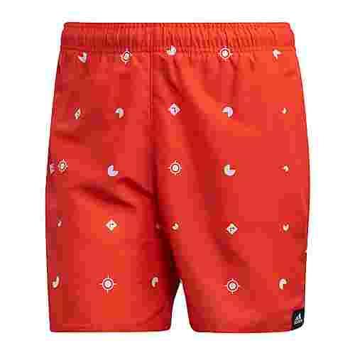 adidas Allover Print Badeshorts Badeshorts Herren Active Orange