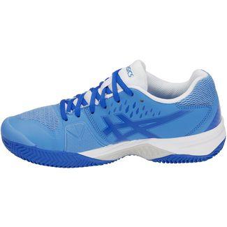 ASICS GEL-CHALLENGER 12 CLAY Tennisschuhe Damen  blue coast-white