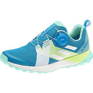 adidas Two Boa GTX® Trailrunning Schuhe Damen shock cyan
