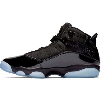 Nike Jordan 6 Rings Basketballschuhe Herren black-black-white