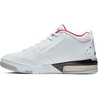 Nike Jordan Big Fund Basketballschuhe Herren white-metallic silver-black