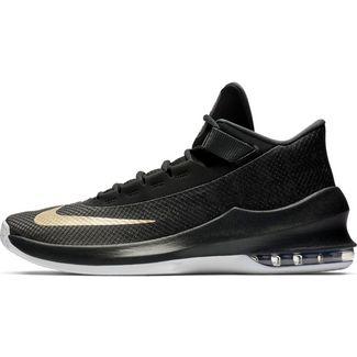 Nike Air Max Infuriate 2 Mid Basketballschuhe Herren anthracite-metallic gold-black