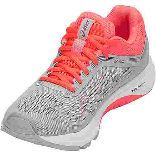 ASICS GT-1000 7 Laufschuhe Damen mid-grey-flash-coral