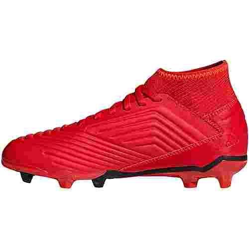 adidas PREDATOR 19.3 FG J Fußballschuhe Kinder active red