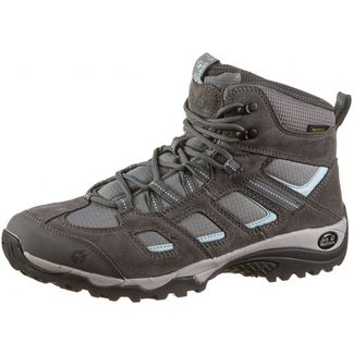 Jack Wolfskin Vojo Hike 2 Texapore Mid Wanderschuhe Damen tarmac grey