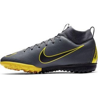 Nike JR MERCURIAL SUPERFLY 6 ACADEMY GS TF Fußballschuhe Kinder dk grey-black-dk grey-opti yellow