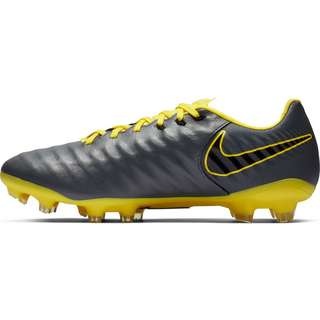 Nike TIEMPO LEGEND 7 PRO FG Fußballschuhe dk grey-black-opti yellow-opti yellow