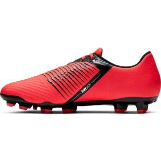 Nike PHANTOM VENOM ACADEMY FG Fußballschuhe brt crimson-black-brt crimson-mtlc silver