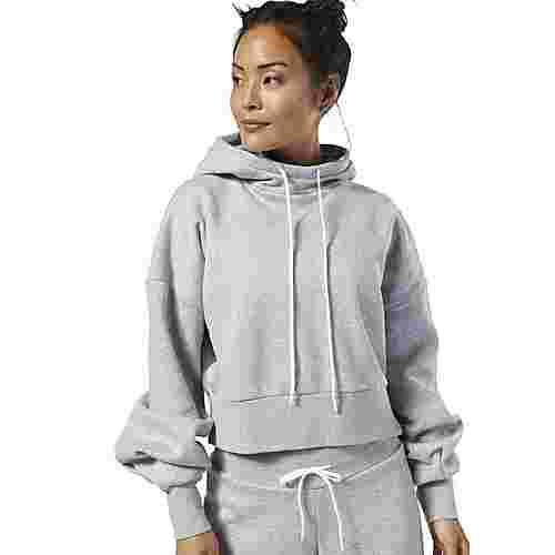 Reebok Studio Fashion Hoodie Hoodie Damen Medium Grey Heather