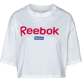 Reebok Linear Croptop Damen white