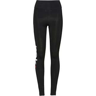 Reebok Linear Leggings Damen black