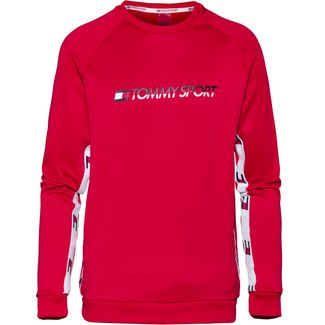 Tommy Sport Sweatshirt Herren true red