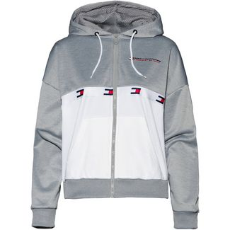 Tommy Sport Sweatjacke Damen grey heather