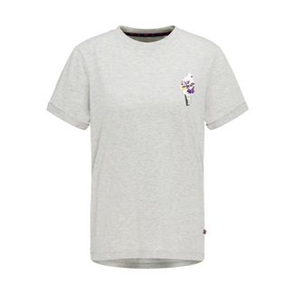 MYMO T-Shirt Damen hellgrau melange