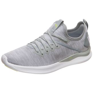 PUMA Ignite Flash evoKNIT Sneaker Damen grau / weiß