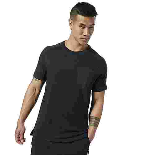 Reebok Training Supply Move T-Shirt Funktionsshirt Herren Schwarz