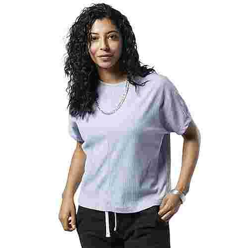Reebok Training Essentials Ribbed T-Shirt Funktionsshirt Damen Denim Dust