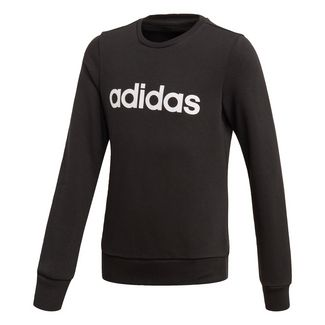 adidas Linear Sweatshirt Sweatshirt Kinder Black / White