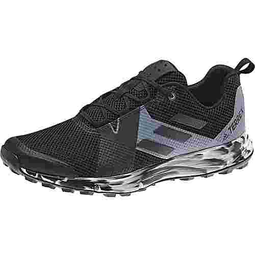 adidas Two Trailrunning Schuhe Herren core black-carbon-grey one F17