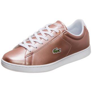 Lacoste Carnaby Evo Sneaker Kinder rosé gold