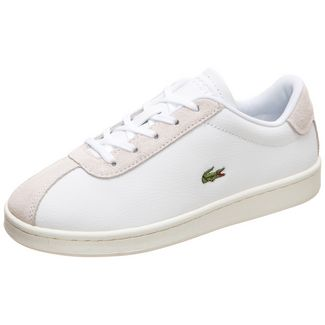 Lacoste Masters Sneaker Kinder weiß / beige