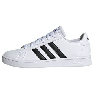 adidas Grand Court Schuh Sneaker Kinder Ftwr White / Core Black / Ftwr White