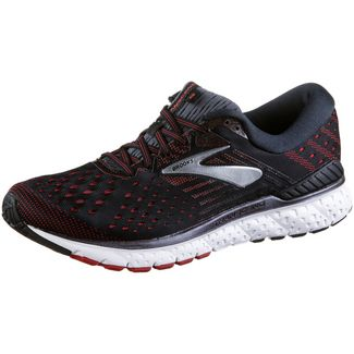 Brooks Transcend 6 Laufschuhe Herren black-ebony-red