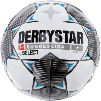 Derbystar Magic Light Bundesliga 19/20 350gr Fußball weiß schwarz grau blau