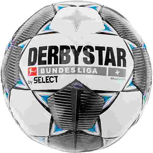 Derbystar Magic Light Bundesliga 19/20 350gr Fußball weiß schwarz grau blau