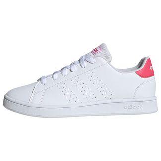 adidas Advantage Schuh Sneaker Kinder Cloud White / Real Pink / Cloud White
