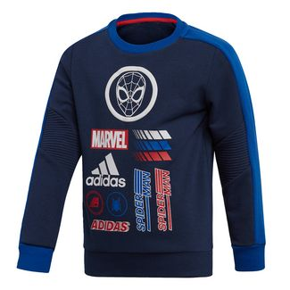 adidas Marvel Spider-Man Sweatshirt Sweatshirt Kinder Collegiate Navy / Collegiate Royal / Scarlet