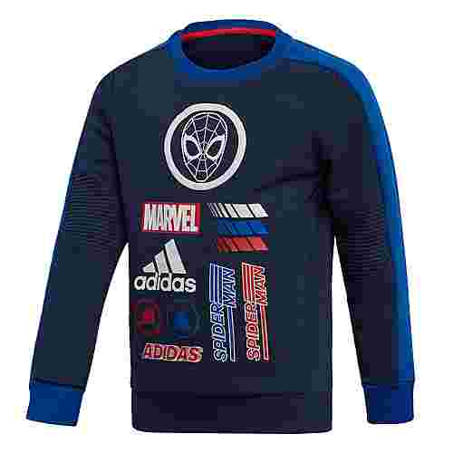 adidas Marvel Spider-Man Sweatshirt Sweatshirt Kinder Collegiate Navy / Collegiate Royal / Scarlet