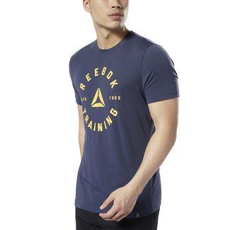 Reebok GS Training Speedwick T-Shirt Funktionsshirt Herren Heritage Navy