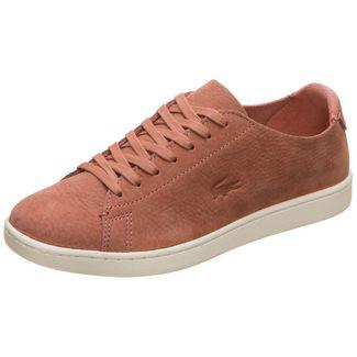 Lacoste Carnaby Evo Sneaker Damen braun