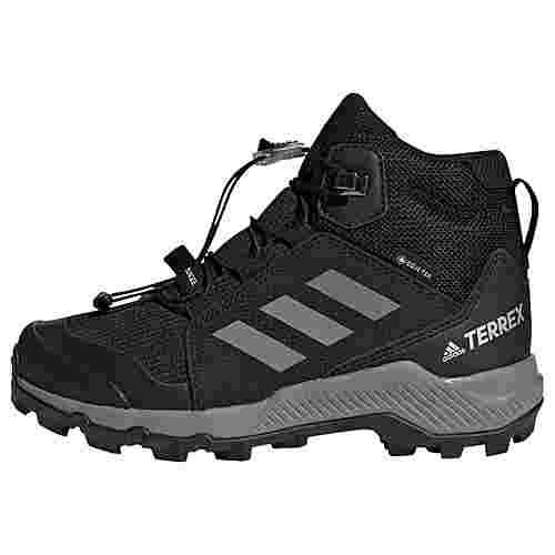 adidas GTX® TERREX Mid GTX Schuh Wanderschuhe Kinder Core Black / Grey Three / Core Black