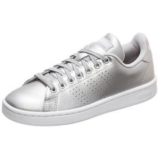adidas Advantage Sneaker Damen silber / weiß