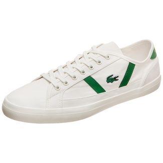 Lacoste Sideline Sneaker Herren weiß / grün
