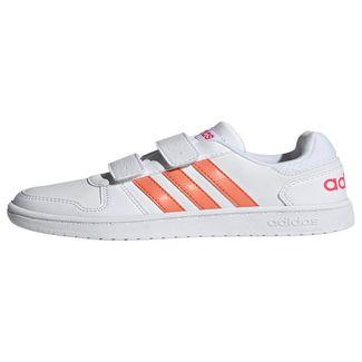 adidas Hoops 2.0 Schuh Sneaker Kinder Ftwr White / Real Pink / Real Pink